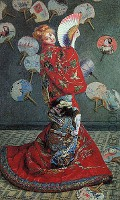 By Claude Monet - La Japonaise