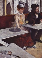 Absinthe Drinkers - By Edgar Degas