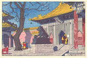Lama Temple Peking, 1922