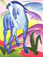 Blue Horse - By Franz Marc