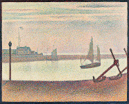 The Channel at Gravelines - By Georges Seurat