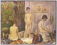 Les Poseuses - By Georges Seurat