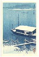 Postcard Size Prints by Hasui