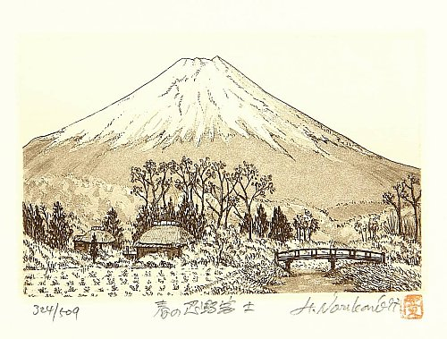 By Hiroto Norikane - Mt. Fuji in the Spring