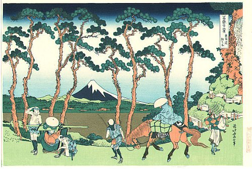 36 Views of Mount Fuji - No. 26 - Hodogaya