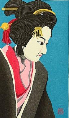 By Ido Masao - Bunraku Puppet - Musume