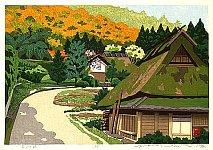 By Ido Masao - Autumn in Miyama