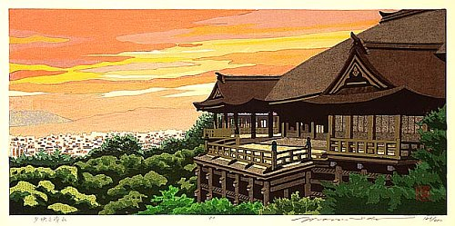Kiyomizu Temple in Evening Glow