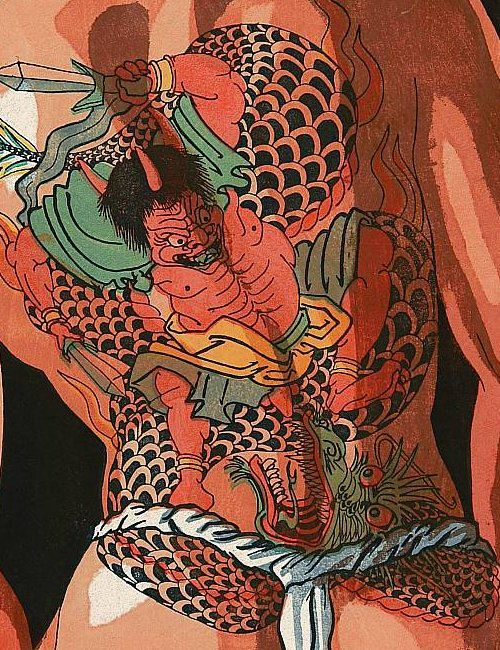 Japanese Tattoos in History & Popular Culture