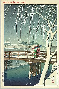 Impression before WW II - By Hasui Kawase