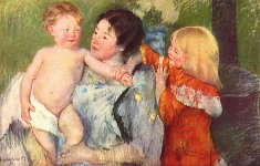 After the Bath - By Mary Cassatt