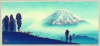 Mount Fuji - seen by Shotei