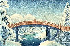 Shinkyo - The Sacred Bridge at Nikko