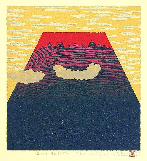 By Tadashige Nishida - Red Fuji (8), 1999