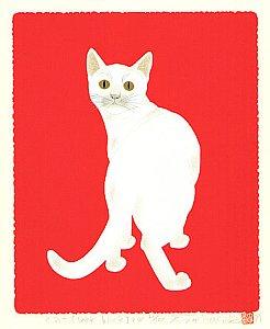 By Tadashige Nishida - Cat Look Back 2W, 1999