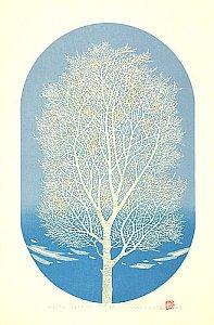 By Tadashige Nishida - White Tree (8), 2002