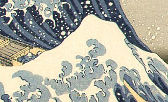 36 Views of Mt. Fuji - The Great Wave off Kanagawa