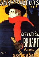 Aristide Bruant - By Toulouse Lautrec