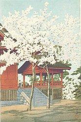 By Hasui Kawase - Kiyomizu Temple