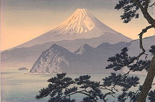 By Shiro Kasamatsu - Mt. Fuji in Sunset
