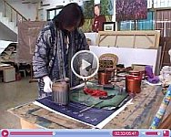 Woodblock Printmaking with Zhu Rui