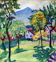 Tegernsee Landscape - August Macke