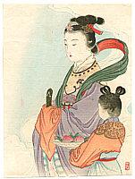 Keishu Takeuchi 1861-1942 - Göttin Seiobo