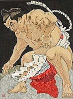 Japanisches Sumo Ringen