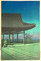 Woodblock print - Hasui Kawase 1883-1957