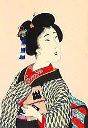 By Chikanobu Toyohara - True Beauties