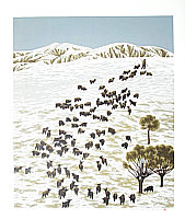 Field - Snow (2), created in 2001