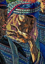 Mountain Village of Lagu (Detail), Zhang Yonghan