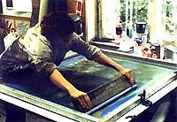 Eva Pietzcker - Silkscreen Printing