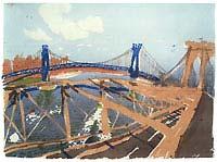By Eva Pietzcker - Brooklyn, silkscreen