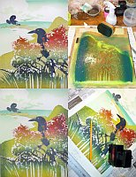 By Tom Kristensen - How a Woodblock Print is Made IV