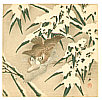 Chikuseki  active ca. 1900 - Two Sparrows