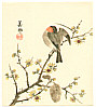 Biho Takahashi 1873-? - Bird on Branch