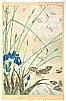 Hoitsu Sakai 1761-1828 - Iris and Water Lily - Rimpa School Series