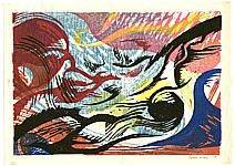 Yasu Mori born 1922 - Abstract Wave