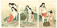 Utamaro Kitagawa 1750-1806 - Abalone Divers
