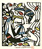 Sadao Watanabe 1913-1996 - Bird and Jesus - Story of the Bible