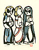 Sadao Watanabe 1913-1996 - Morning After the Resurrection - Story of the Bible