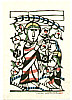 Sadao Watanabe 1913-1996 - Jesus and the Followers - Story of the Bible
