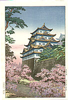 Koitsu Tsuchiya 1870-1949 - Nagoya Castle