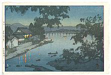 Hiroshi Yoshida 1876-1950 - Chikugo River (Jizuri)