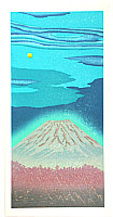 Yuji Watanabe born 1941 - Mt.Fuji under the Moon Light