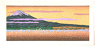 Yuji Watanabe born 1941 - Mt.Fuji and Lake Kawaguchi  (Limited Edition)