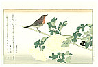 Utamaro Kitagawa 1750-1806 - Great Tit and Robin