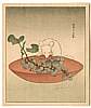 Eishi Hosoda 1756-1829 - Mouse and Grapes
