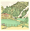 Senpan Maekawa 1888-1960 - Beppu Umi Jigoku ( Hot Spring Notes Continued)